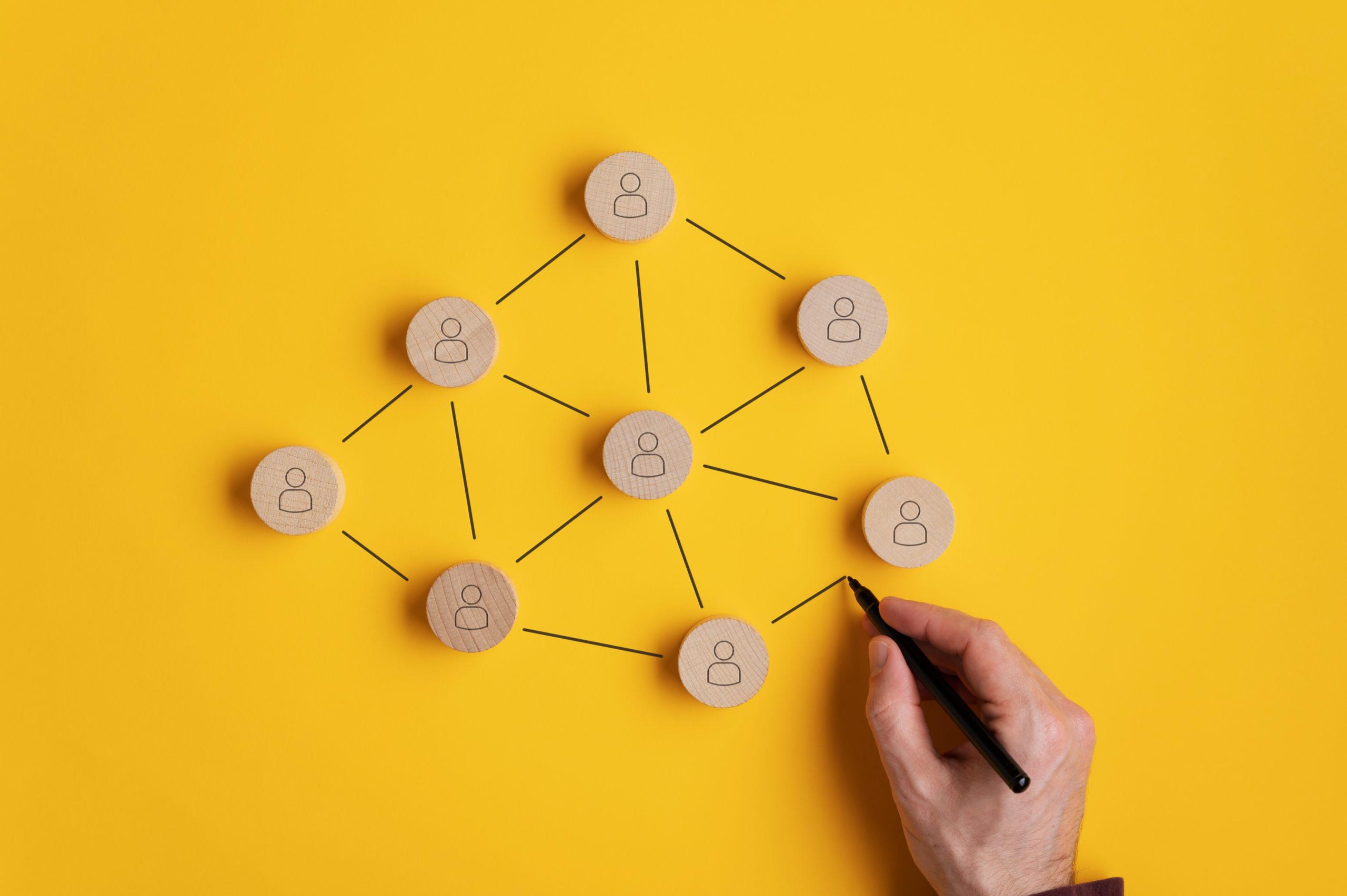 marketing ett réseau